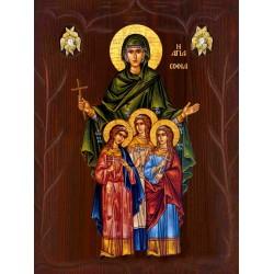 Αγία Σοφία & οι 3 θυγατέρες Πίστη, Ελπίδα & Αγάπη [ΘΕΜΑ Α6]