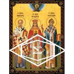 Άγιος Νικόλαος Αρχιεπίσκοπος Μύρων  Λικίας, Αγία Θεοδώρα η Βυζαντινή & Άγιος Σπυρίδων Τριμυθούντος  Κύπρου
