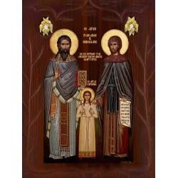 Άγιοι  Ραφαήλ, Νικόλαος, Ειρήνη
