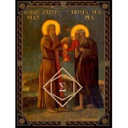 Οσία Μαρία η Αιγυπτία και Άγιος Ζωσιμάς